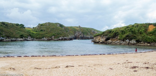 And the actual beach - Promise, No Poo in sight ;-)