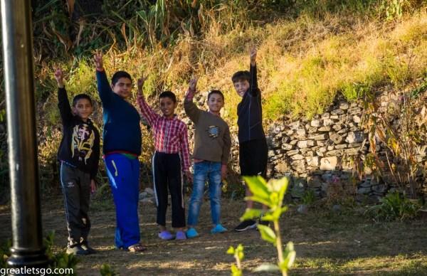 Kasm and friends at Marley Villa