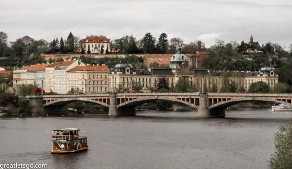 Prague, River