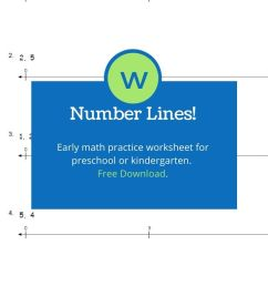 Number Line Math Activity for Kids - Great Math Worksheets [ 1102 x 735 Pixel ]