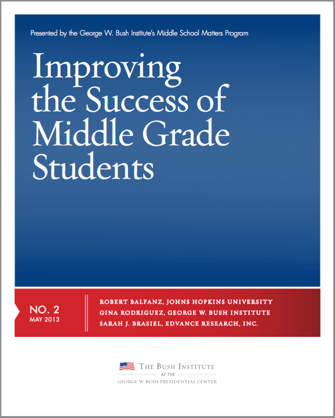 Improving the success of middle school students