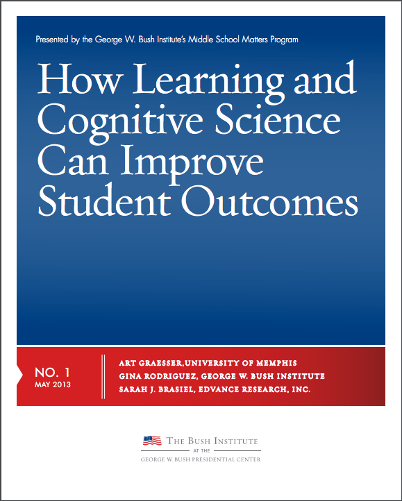 Learning and Cognitive Science can improve student outcome