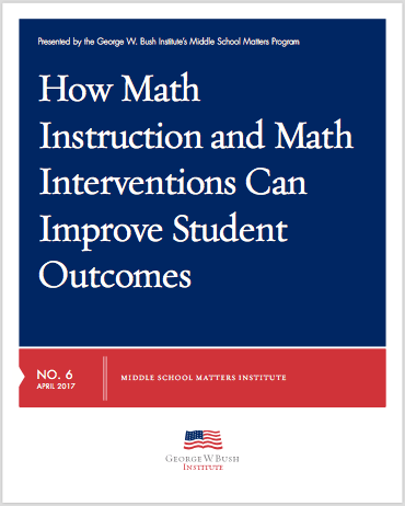 math instruction