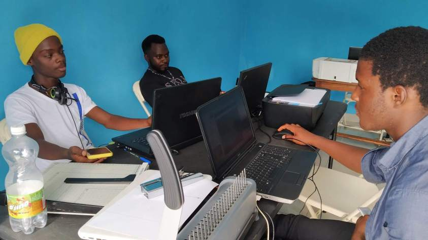 Web design training cameroon