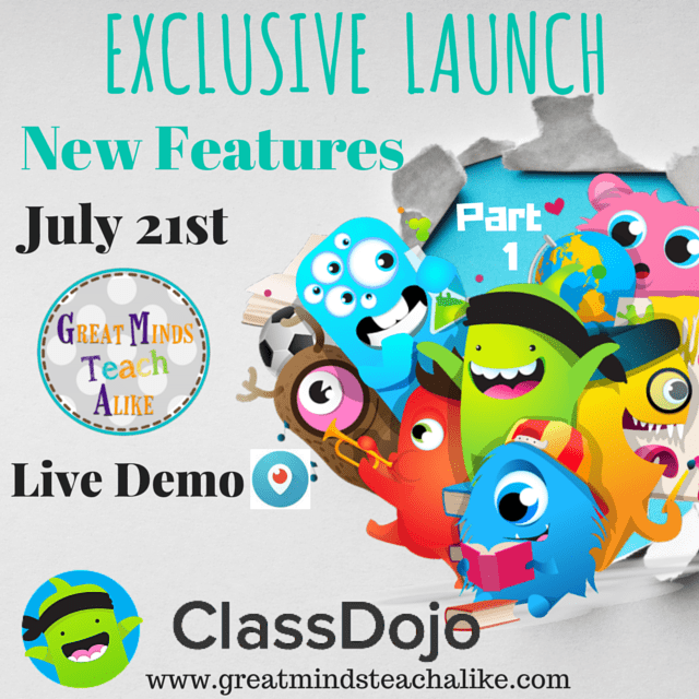 Exclusive -  ClassDojo New Feature Reveal Part 1