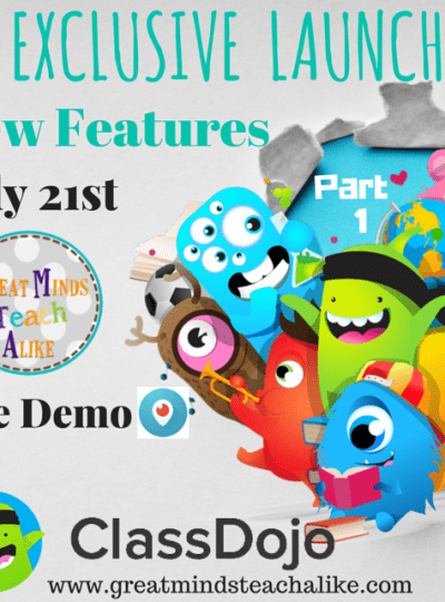 Exclusive –  ClassDojo New Feature Reveal Part 1