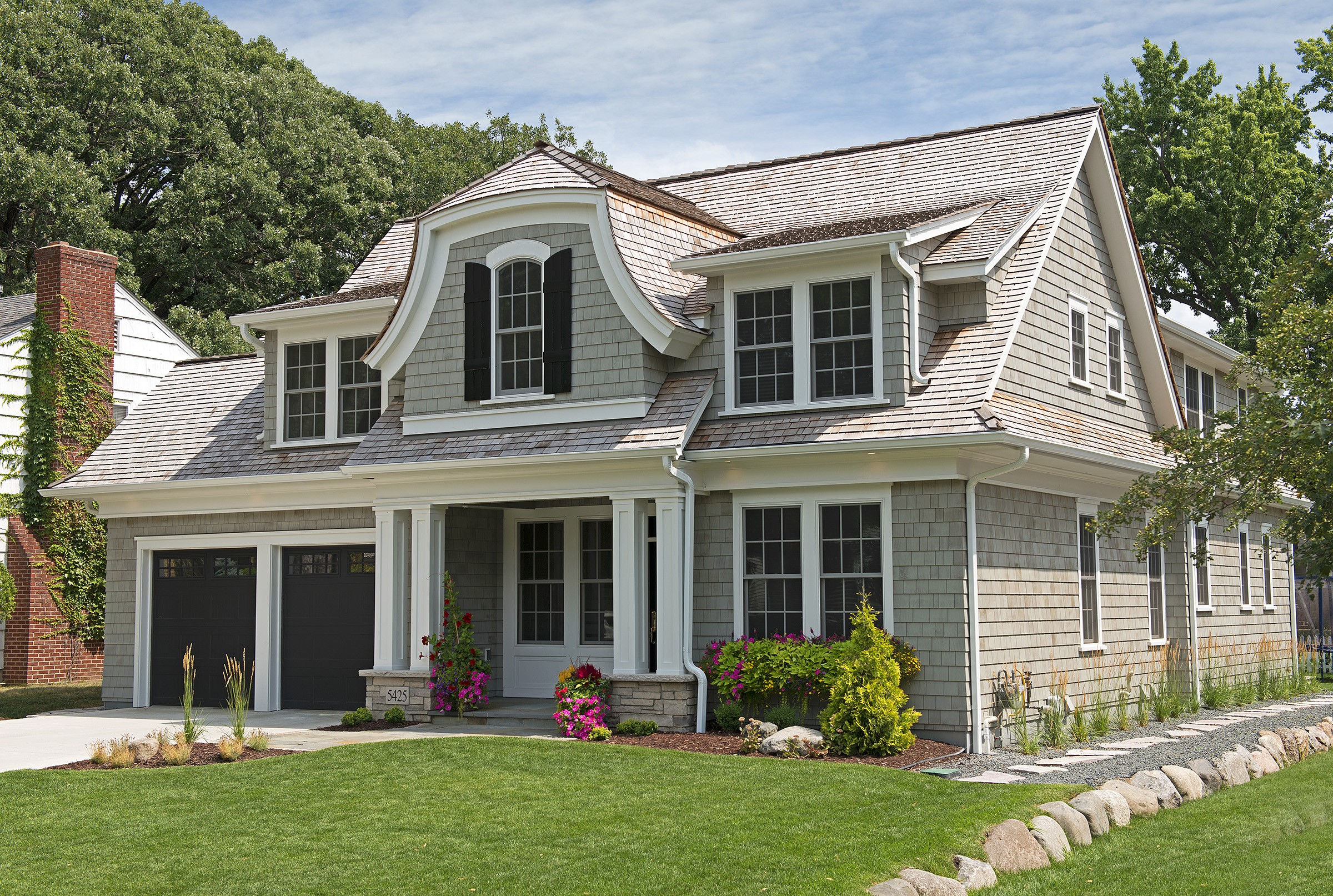 14 Photos And Inspiration Dutch Colonial Home  Home Plans  Blueprints