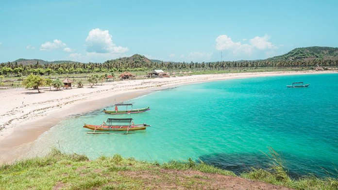 tanjung aan beach one of lombok destination