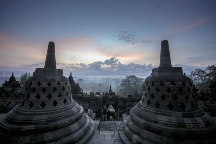 borobudur temple tourist attraction in magelang