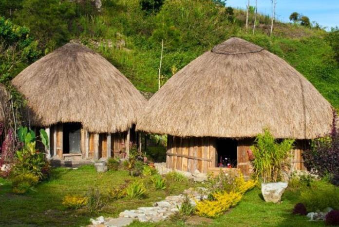 honai, papua traditional house