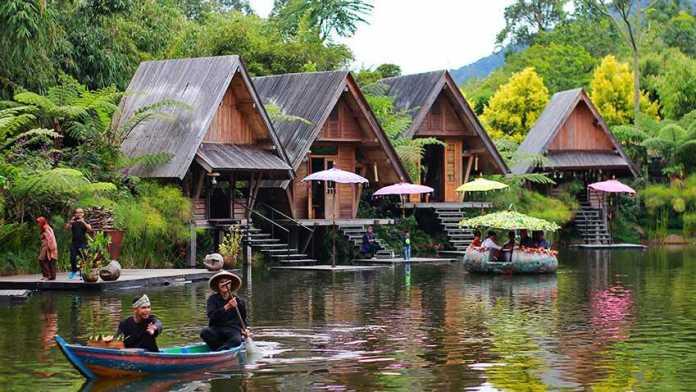 dusun bambu tempat wisata murah bandung