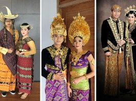 pakaian tradisional indonesia