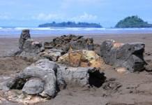 pantai air manis tempat wisata padang