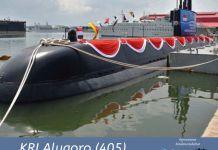 kapal selam kri alugoro-405