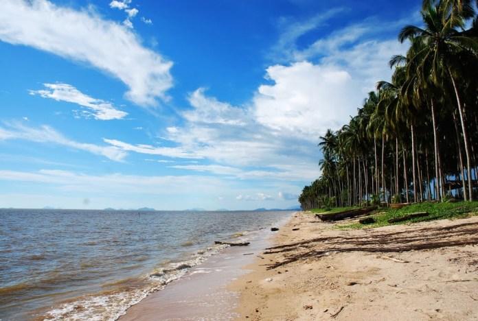 pantai kijing tempat wisata murah pontianak