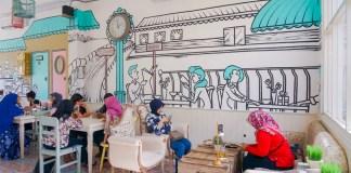 cafe makmu tempat nongkrong surabaya