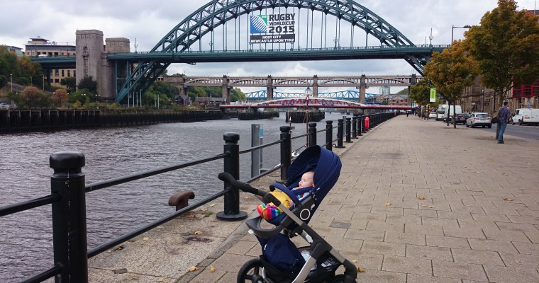 Exploring Newcastle with Stokke On The Go