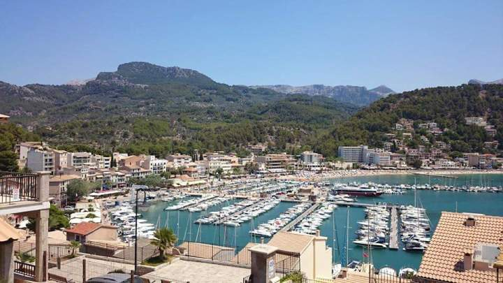Port de Soller mountains