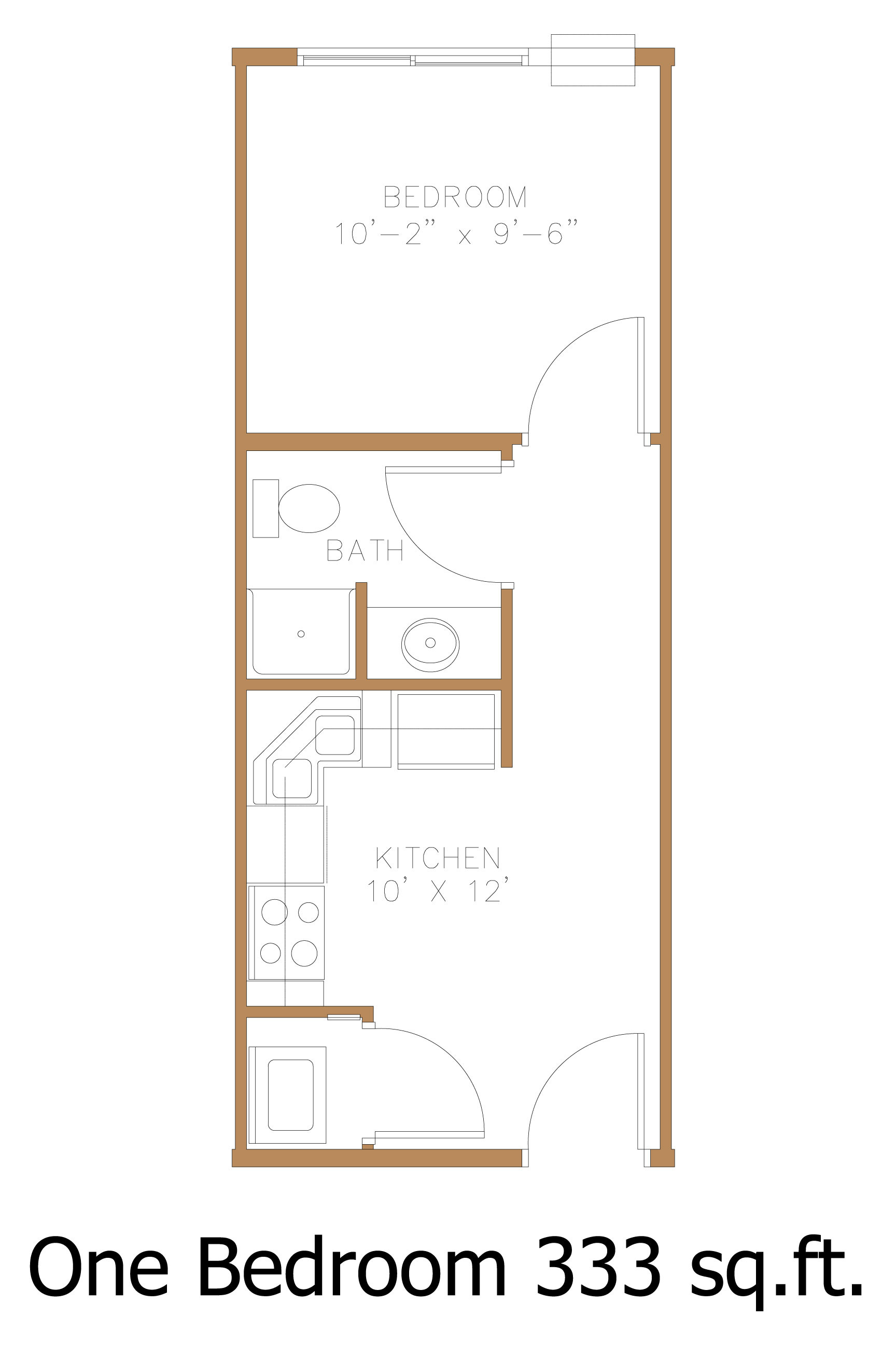 Hawley MN Apartment Floor Plans