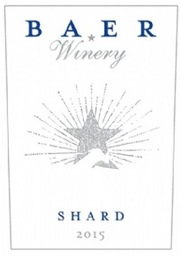 Baer Winery 2015 Shard White Wine, Columbia Valley, $25