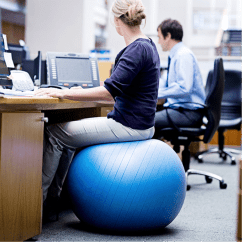 Chair For Office Use Modern Blue Should You Exercise Ball Instead Of Greate Chairs