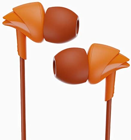 Boat Bassheads 100: Made in India in Ear Wired Earphones with Mic (Courageous Orange) Accessories