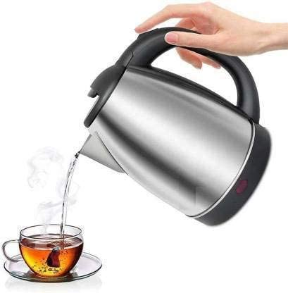 SCW™ Kitchen Appliance Small Kettle Stove Kraft Silver Color 2-Litre Electric Kettle Made In India Kitchen Care
