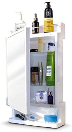 Parasnath Strong and Heavy Rich Look Bathroom Cabinet with Mirror – Made in India Bathroom Care