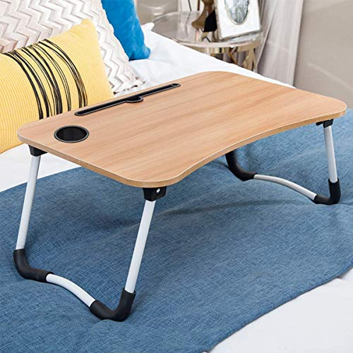 SCW™ Office Hospital Home Work Foldable Laptop LapDesk Table Eating Study Working Reading Writing Wooden Table Made in India (1) Furniture