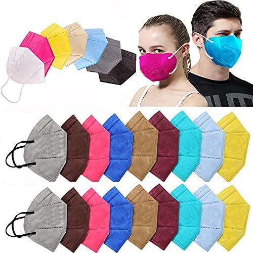 Ace N King N95/KN95 Washable Reusable Anti Pollution Dust Face Mask for Kids,Adults,Men & Women Outdoor Protection 5 Layer Filtration Made in India – Pack of 20 Health Care