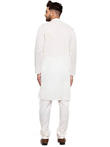 Jompers Men's Chicken Cotton Kurta Pyjama Clothing