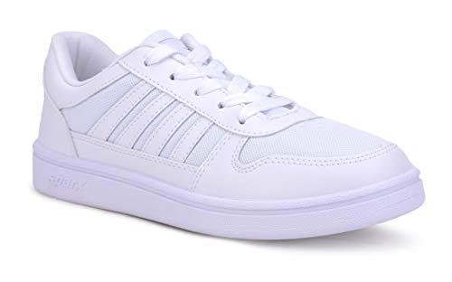 Sparx Men's White Sneakers Footwear