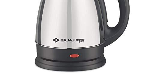 Bajaj Majesty KTX 15 1.7 Litre Kettle (Black and Silver) Home Appliances
