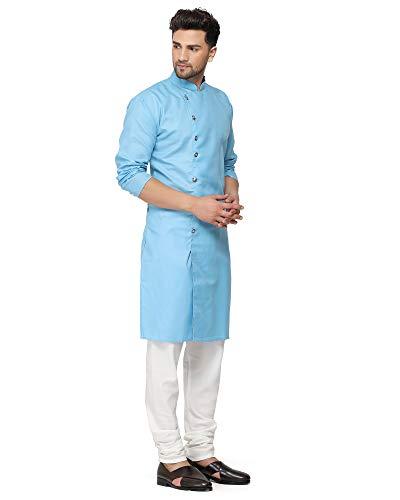 RYLEN Men Kurta and Pyjama Set Cotton Clothing