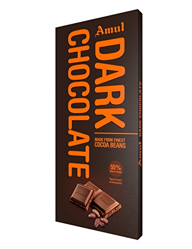 Amul Dark Chocolate: Assorted Pack of 55%,75% and 90% Sweets
