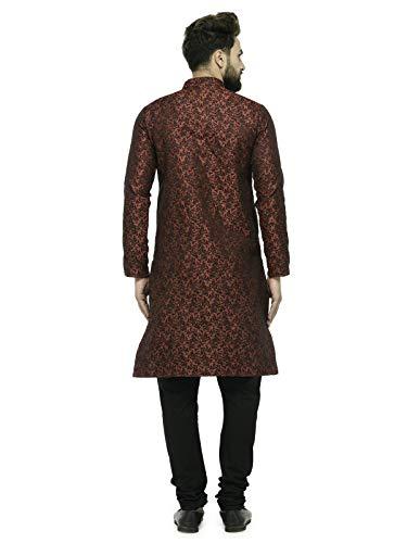 Jompers Men's Silk Kurta and Pyjama Clothing