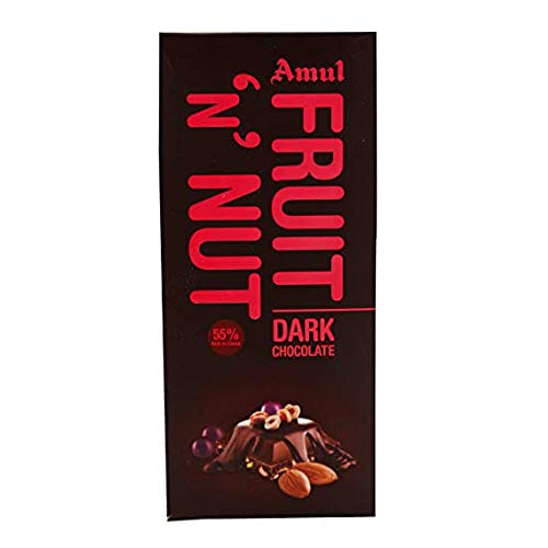 Amul Fruit N Nut Chocolate,150Gm Rs. 100/- (Pack of 4)