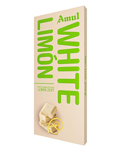 Amul White Limon Chocolate Pack of 3