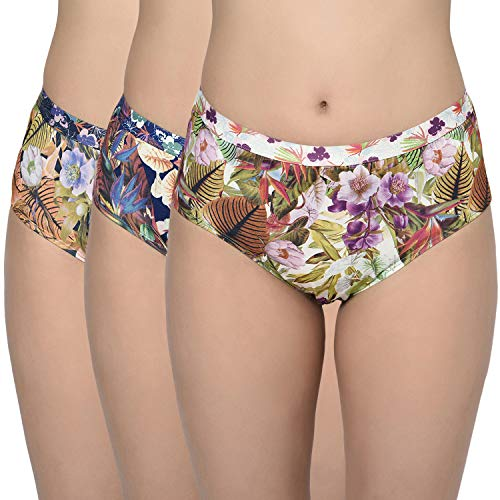 BODYCARE Women's Hipsters Polyester Panties