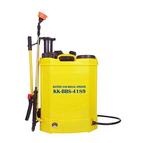 Kisan Kraft Kisankraft KK-BBS-4189 Manual Cum Battery Knapsack Sprayer (18 L)