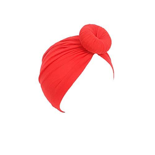 SYGA 1 Piece Cotton Hat BunTurban Infant Photography Props
