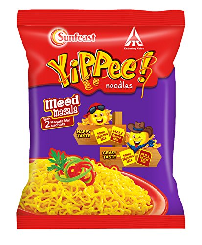Sunfeast Yippee Noodles Mood Masala, 70g [Pack of 6]