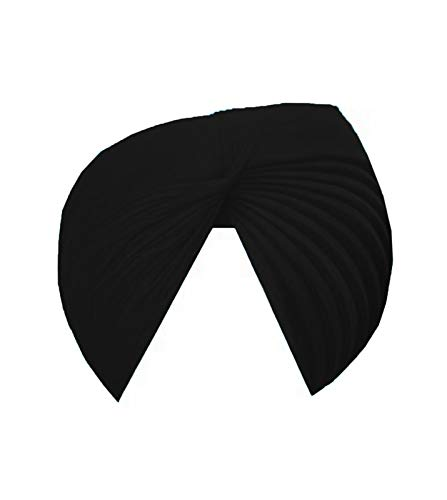VTN Turban Patiala Shahi Pagdi for Sikh Men Full Voile Pagg/Dastar Cloth/Turban Cloth