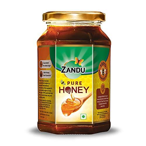 Zandu Pure Honey, 100% Purity, No Added Sugar, 500g