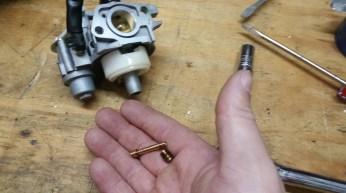 Remove Factory Jet & Emulsion Tube