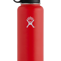 Stainless Steel Outdoor Kitchen Drain Hydro Flask 40oz Wide Mouth Insulated Water Bottle With ...