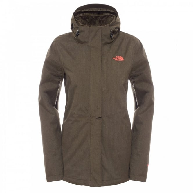 The North Face Ladies Inlux Insulated Jacket New Taupe