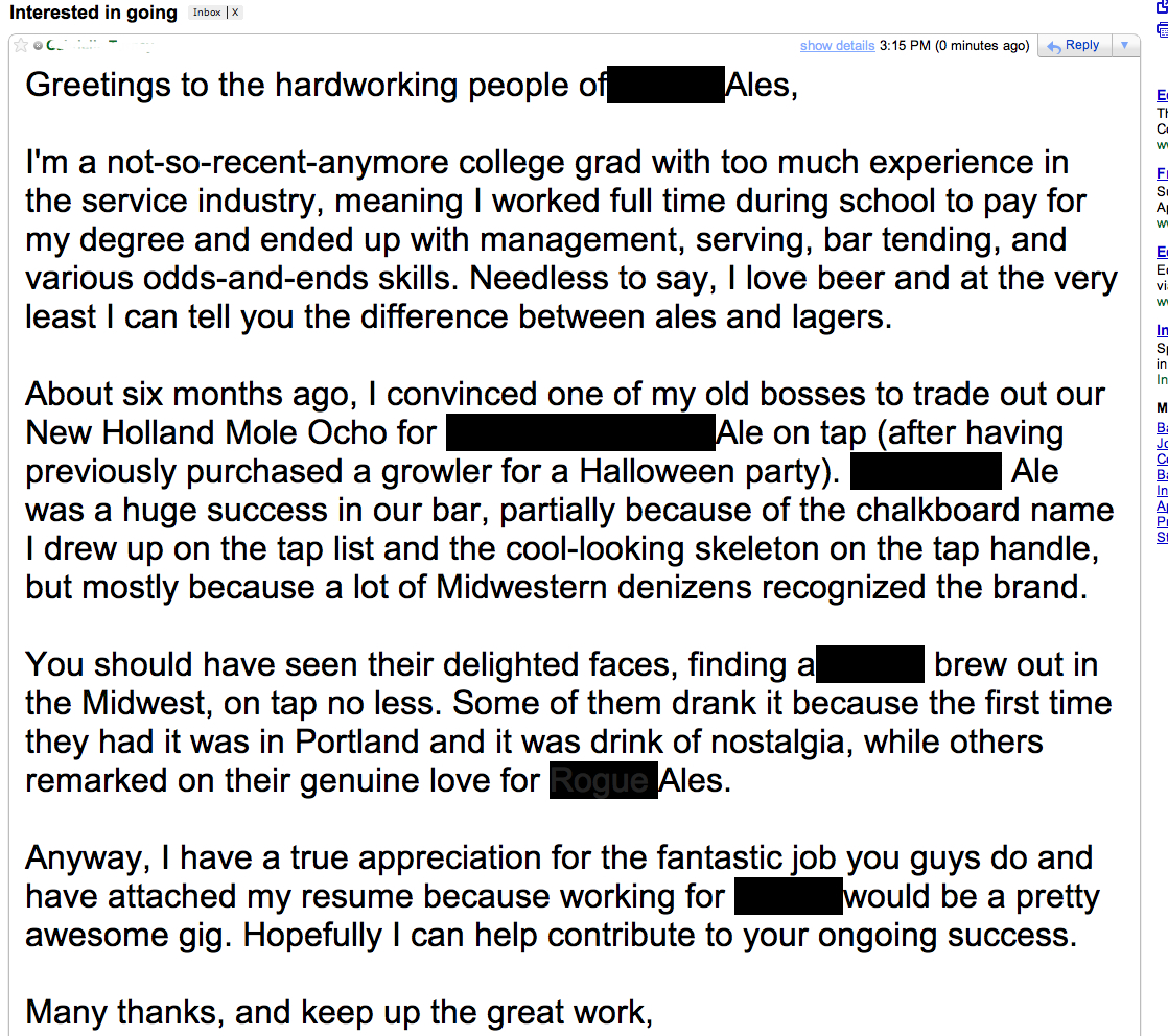 How To Write An Unconventional Cover Letter