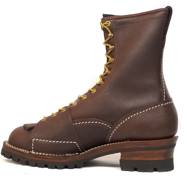 Wesco Highliner 9710100 Men Work Boots Brown Leather