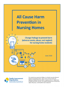 All Cause Harm Prevention in Nursing Homes Toolkit